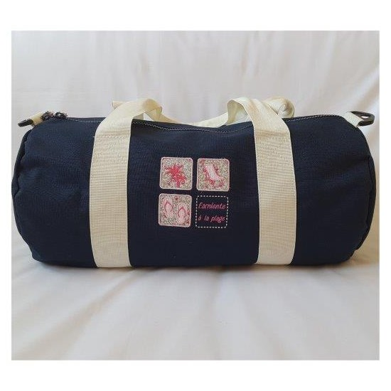 Grand sac polochon marine...