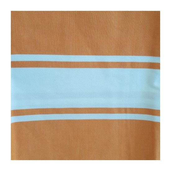 Fouta orange avec motif en...