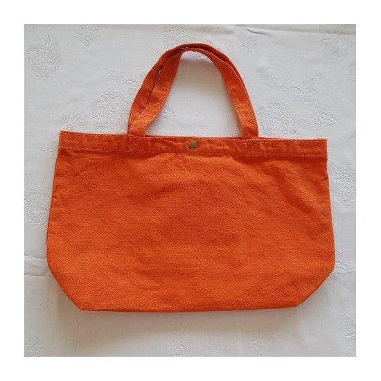 Petit sac orange brodé